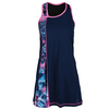 SOFIBELLA Women`s Spectrum Asymmetrical Tennis Dress Navy