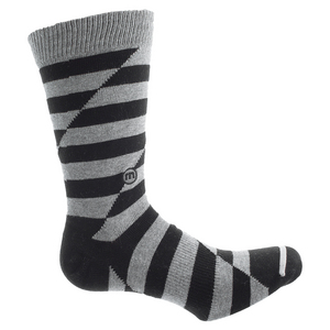 Men`s No Quitters Tennis Socks Black