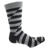 Men`s No Quitters Tennis Socks Black by TRAVISMATHEW