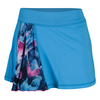 SOFIBELLA Women`s Spectrum 13 Inch Tennis Skort Reflective Blue