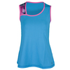 SOFIBELLA Women`s Spectrum Classic Sleeveless Tennis Top Reflective Blue