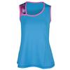 SOFIBELLA Women`s Spectrum Classic Sleeveless Tennis Top Reflective Blue