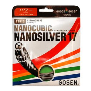 GOSEN NANOSILVER TENNIS STRINGS 17G/1.25MM