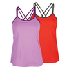 FILA Women`s Double Time Two-Fer Tank