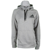 ADIDAS Women`s Fleece Pull-Over Hoody Medium Gray