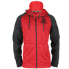 ADIDAS Men`s Fleece Full-Zip Hoodie Power Red Heather