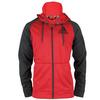 ADIDAS Men`s Fleece Full-Zip Hoodie Power Red Heather