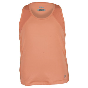 FILA GIRLS ILLUSION SLVLS TNS TANK PEACH POIS