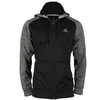 ADIDAS Men`s Tech Fleece Full Zip Hoodie Black and Dark Gray