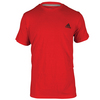 ADIDAS Men`s Go-To Performance Crew Tee Vivid Red