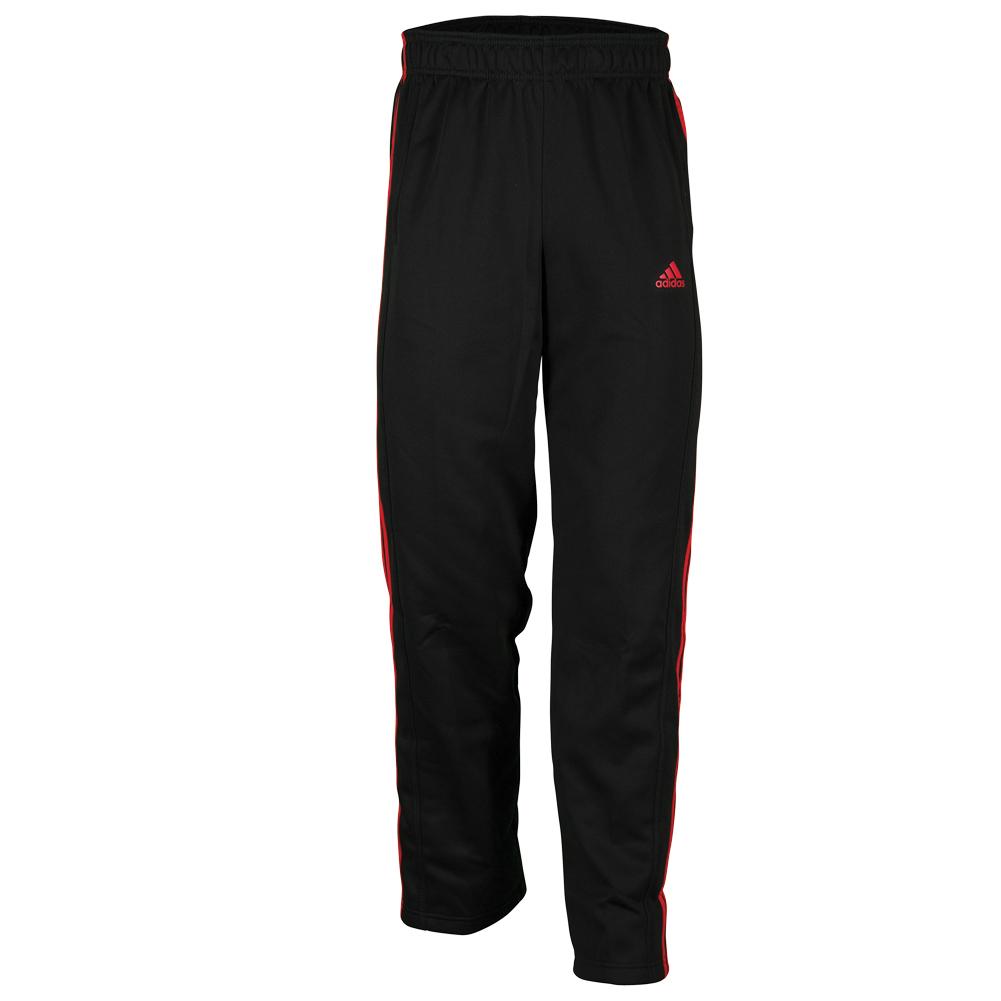 Men`s Tech Fleece Pant Black and Scarlet