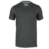 ADIDAS Men`s Go-To Performance Crew Tee Dark Gray Heather