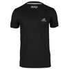 Men`s Go-To Performance Crew Tee Black by ADIDAS