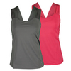 FILA Women`s Illusion Sleeve Tennis Tank