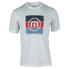 TRAVISMATHEW Men`s Cali 2.0 Tennis Crew White