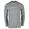 TRAVISMATHEW Men`s Armstrong Long Sleeve Tennis Top Heather Griffin