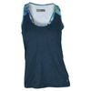 LIJA Women`s Ritual Tennis Tank Top Abyss and Print