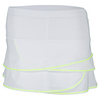 LUCKY IN LOVE Girls` Scallop Tennis Skort White