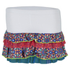 LUCKY IN LOVE Girls` Kaleidoscope Ruffle Tennis Skort Print