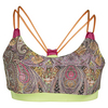 DENISE CRONWALL Women`s Tennis Bra Top Jewel Print