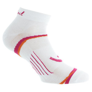 Women`s Quarter Tennis Socks White