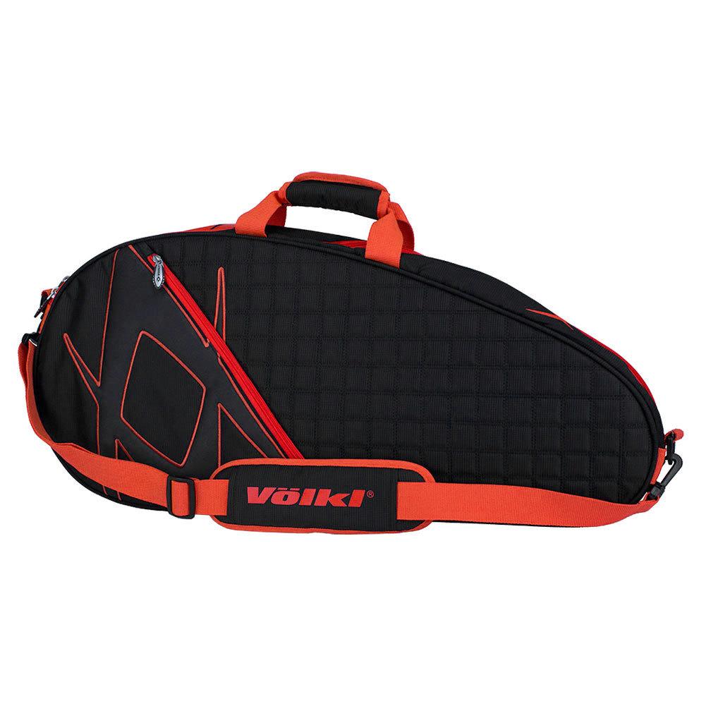 Tour Pro Tennis Bag Black And Lava