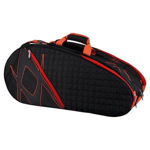 Tour Mega Tennis Bag Black and Lava