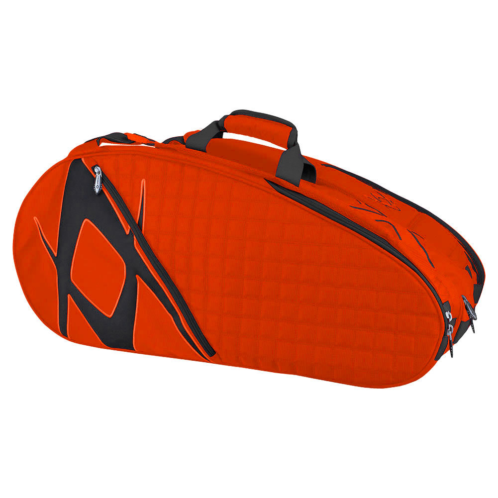 Tour Mega Tennis Bag Lava And Black
