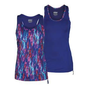 Women`s Color Splash Cinched Side Tennis Tank