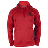 ADIDAS Men`s Fleece Pullover Hoodie Power Red