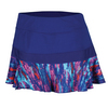 PRINCE Women`s Color Splash Knit Tennis Skort Deep Purple
