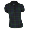 Womens Pique Tennis Polo Black by FRED PERRY