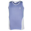 LITTLE MISS TENNIS Girls` Tennis Tank Lavender and White