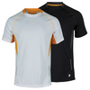 PRINCE Men`s Short Sleeve Tennis Crew
