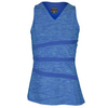 BOLLE Women`s Dragonfly Tennis Tank Aqua and Periwinkle