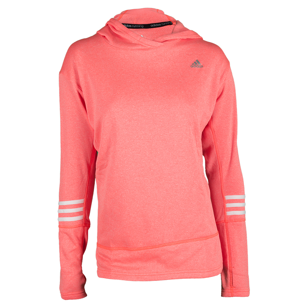 Women`s Response Icon Hoodie Solar Red
