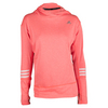 ADIDAS Women`s Response Icon Hoodie Solar Red