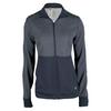 ADIDAS Women`s Limitless Full Zip Jacket Midnight Gray