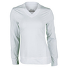 FILA Women`s Core Long Sleeve Tennis Top White