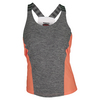 BOLLE Women`s Bellini Tennis Tank Black and Orange