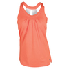 BOLLE Women`s Bellini Racerback Tennis Tank Orange
