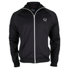 FRED PERRY Men`s Twin Tape Track Jacket Navy and White