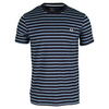 FRED PERRY Men`s Breton Stripe Tee Sky Marl
