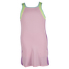 LUCKY IN LOVE Girls` Colorblock Tennis Dress Pink Lite