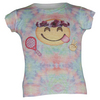 LUCKY IN LOVE Girls` Tie Dye Emoji Tennis Tee Print