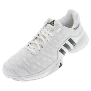 Men`s Barricade 2015 Tennis Shoes White and Black