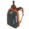 HEAD Rebel Tennis Backpack Black and Orange