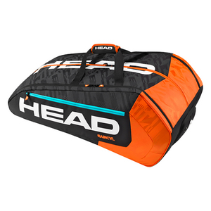 Radical 12 Pack Monstercombi Tennis Bag Black and Orange