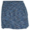 TAIL Women`s August 12.5 Inch Tennis Skort Playful Blue Space Dye
