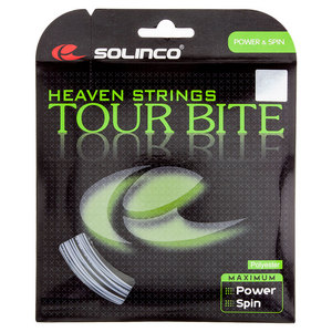 Tour Bite Tennis String Silver
